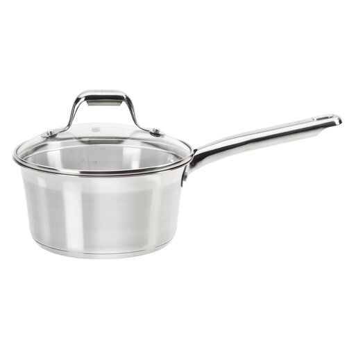 Elegance 3-qt Covered Saucepan