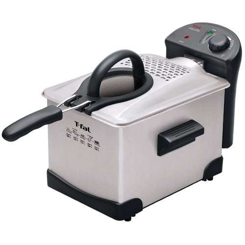 T-fal Easy Pro Enamel 3 Liter Deep Fryer