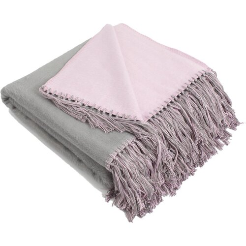 Pure Fiber Brushed Bamboo Viscose Bi-Color Throw