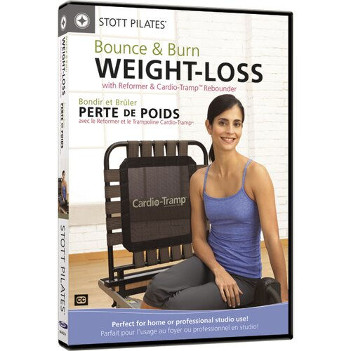 STOTT PILATES Bounce and Burn Weight Loss Reformer