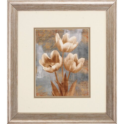 Tulip 2 Piece Framed Graphic Art Set