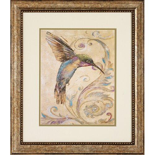 Propac Images Hummingbird I / II 2 Piece Framed Graphic Art Set