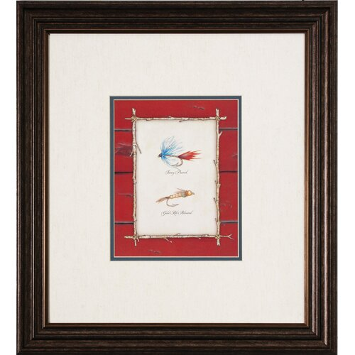 Lures I / II / III / IV 4 Piece Framed Graphic Art Set (Set ...