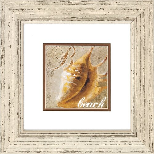Propac Images Beach / Sand 2 Piece Framed Painting Print