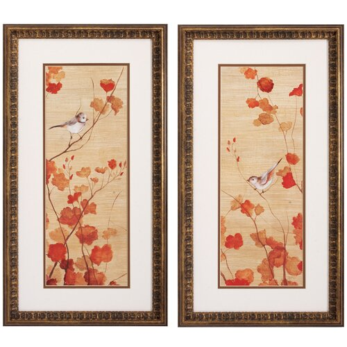 Propac Images Spring Detail I/II 2 Piece Framed Painting Print