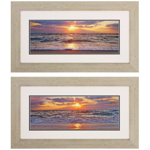 La Isla Bonita I / II 2 Piece Framed Photographic Print Set (Set of 2) ...
