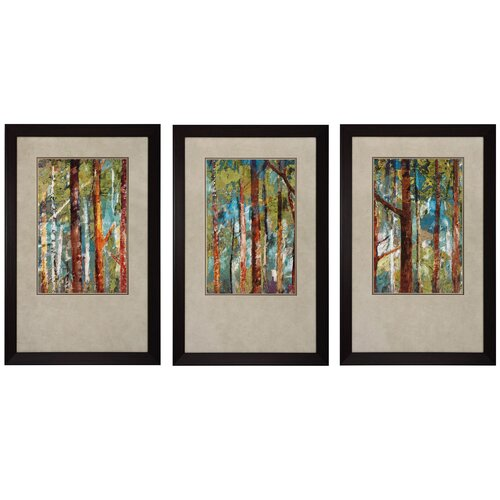 Counter Height Marquee 3-Piece Bar Set : ... Wooldand I Ii Iii 3 Piece Framed Painting Print Set 4204 Ppi3273