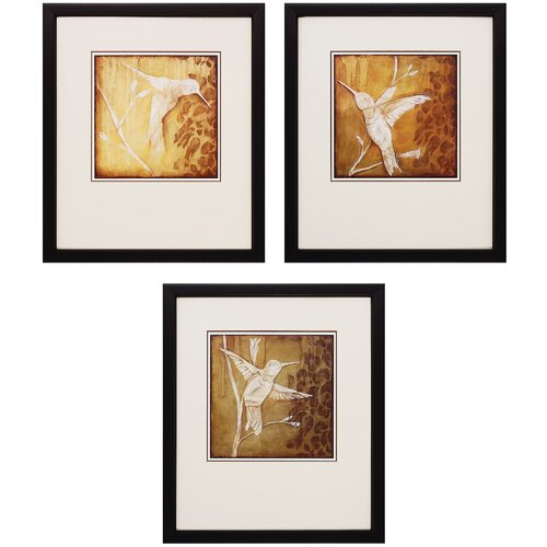 Wings I and II and III 3 Piece Framed Painting Print Set (Set of 2) ...