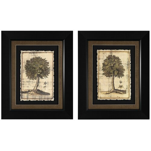 Fruitful Realm I and II 2 Piece Framed Painting Print Set (Set of 2)