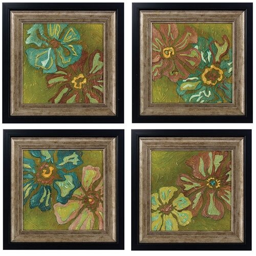 Electre I , II , III and IV 4 Piece Framed Painting Print Set (Set ...