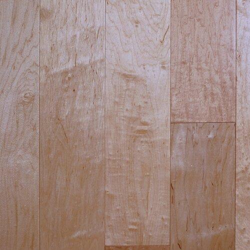 "Aurora Hardwood American Smooth 3-1/2"" Engineered Maple in Classic"