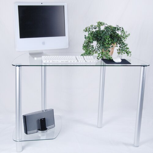 Tier One Designs Computer Desk with Tower Stand