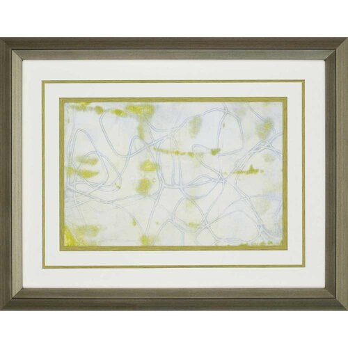 String Theory II by Goldberger Framed Painting Print