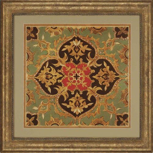 Royal Medallion by Jardine Framed Graphic Art