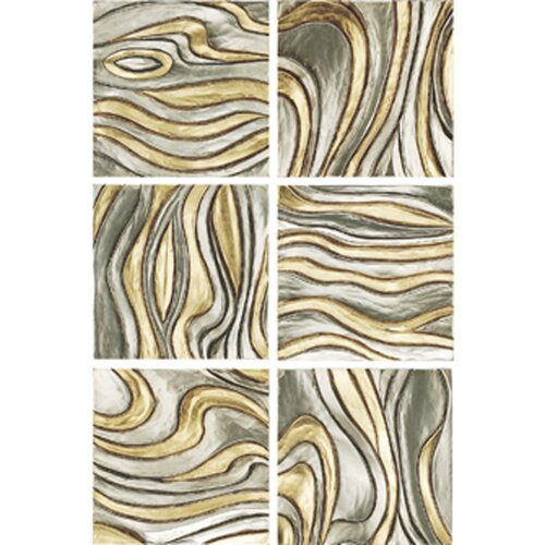 Paragon Oil Slicks Candice Olson 6 Piece Painting Print Set