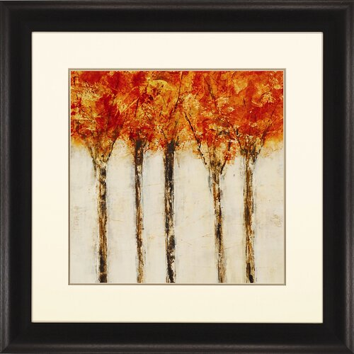 Fall Drive II by Maas Framed Painting Print