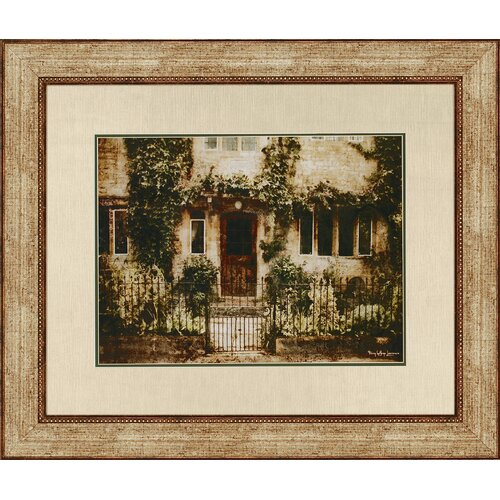 English Cottage IV by Lawrence Framed Painting Print