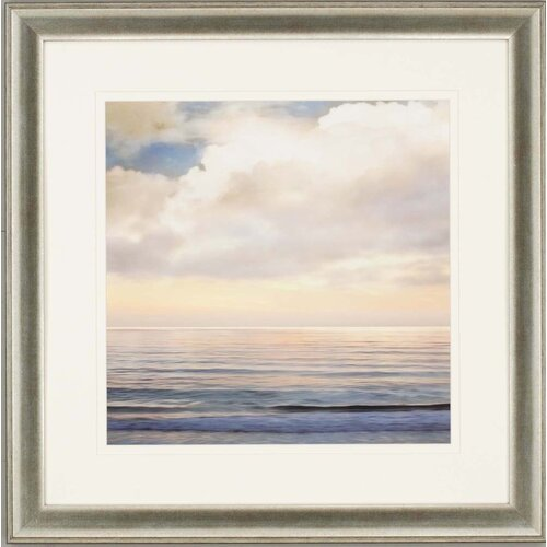 Ocean Light I by Seba Framed Painting Print