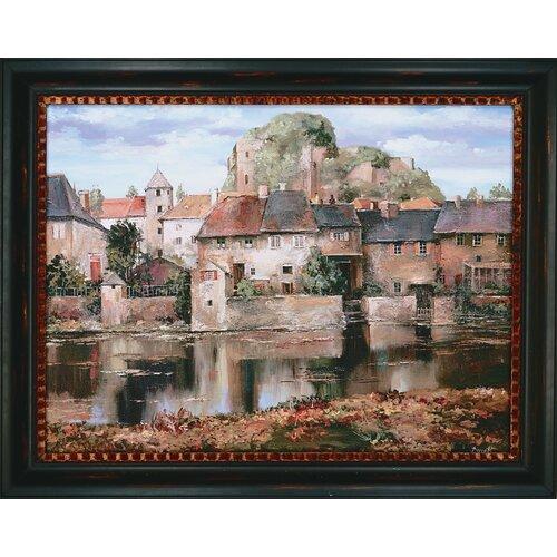 La Seyne-sur-Mer by Duvall Framed Painting Print