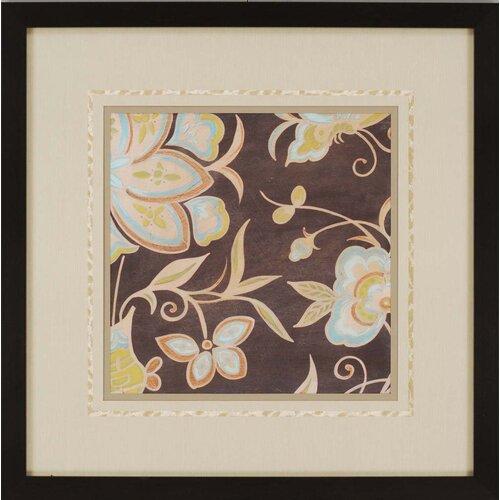 Heirloom Floral II by Vess Framed Painting Print