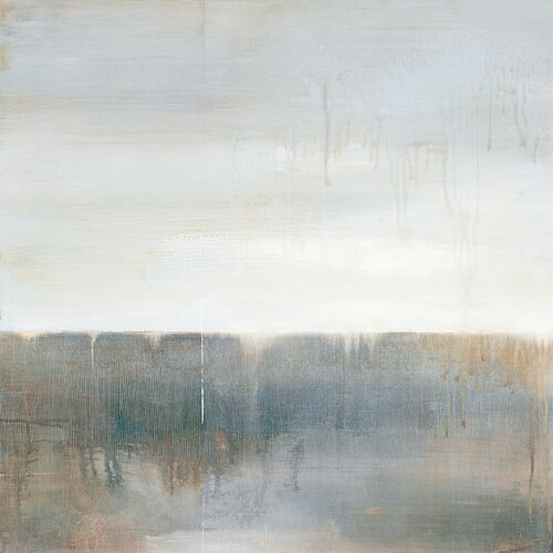 September Fog Descending by Ross Painting Print on Canvas