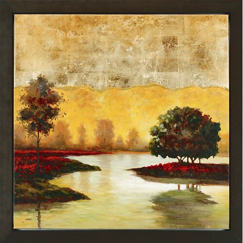 Paragon Evening Solitude I Framed Original Painting