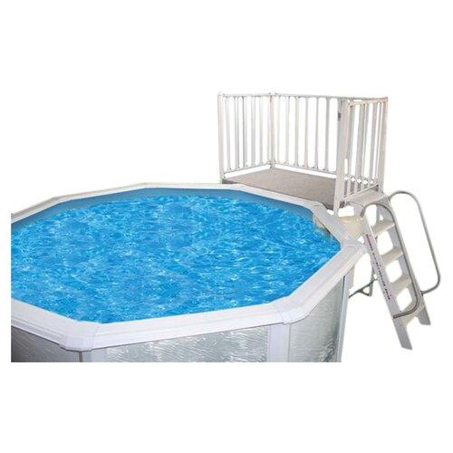 Heritage Pools Free Standing Aluminum Deck
