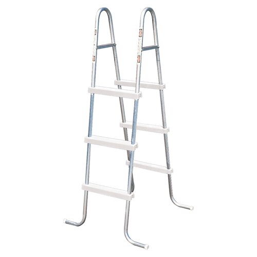 "Heritage Pools Steel Pool Ladder with Resin Steps for 42"" Pool"