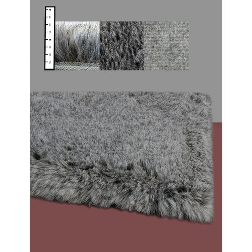 IXI Eros Faux Flokati Grey Area Rug & Reviews