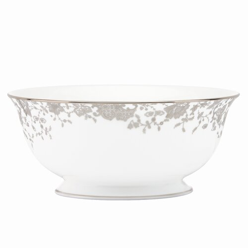 """Marchesa by Lenox French Lace 8.5"""" Serving Bowl"""