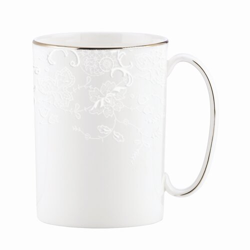 Marchesa by Lenox Porcelain Lace 11 oz. Mug