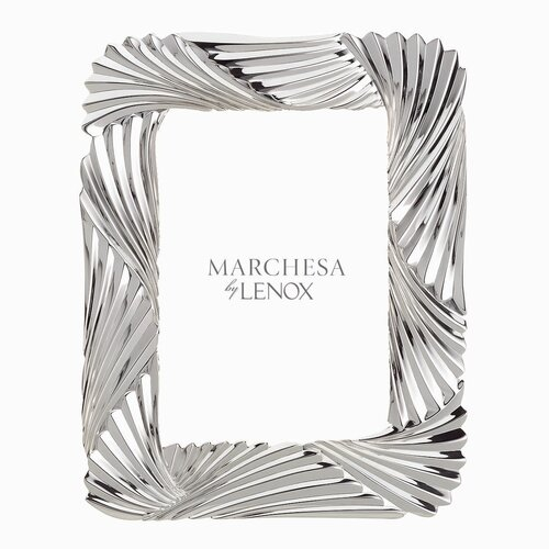 Marchesa by Lenox Pleated Swirl Picture Frame