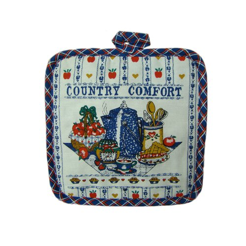 Textiles Plus Inc. Printed Country Comfort Pot Holder