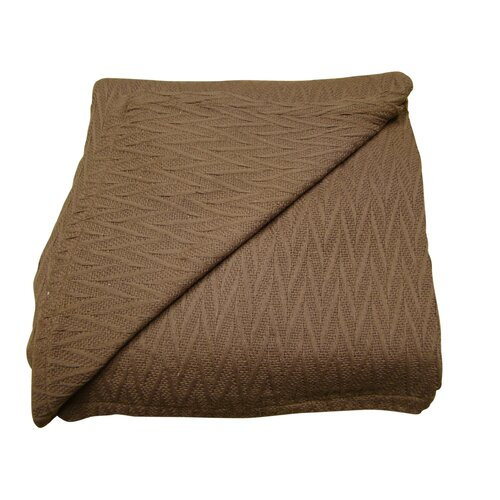 100 % Cotton Herringbone Thermal Blanket
