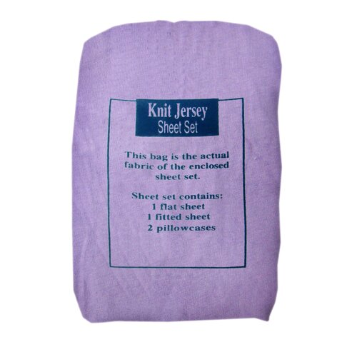 Knit Jersey Sheet Set
