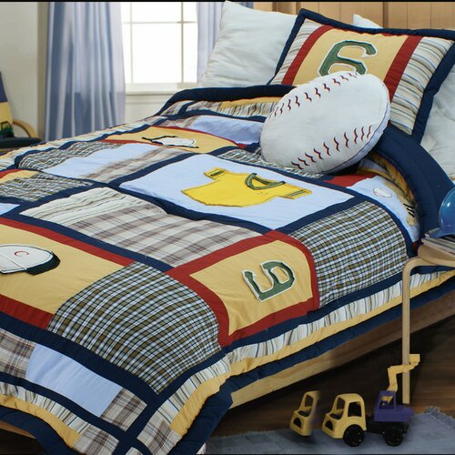 Baseball Comforter Set