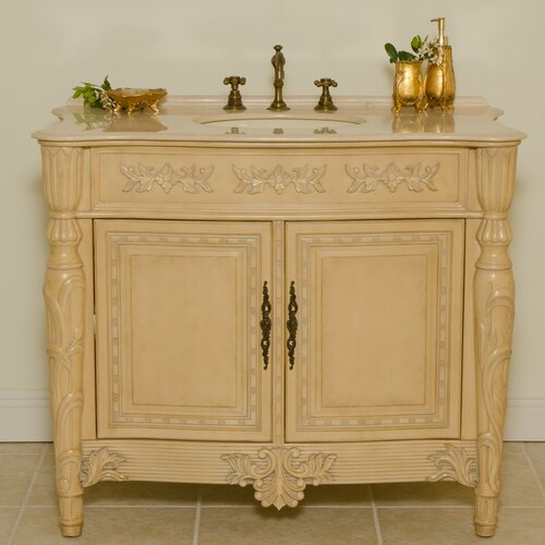 "Global Treasures Miami 42"" Bath Vanity Set"