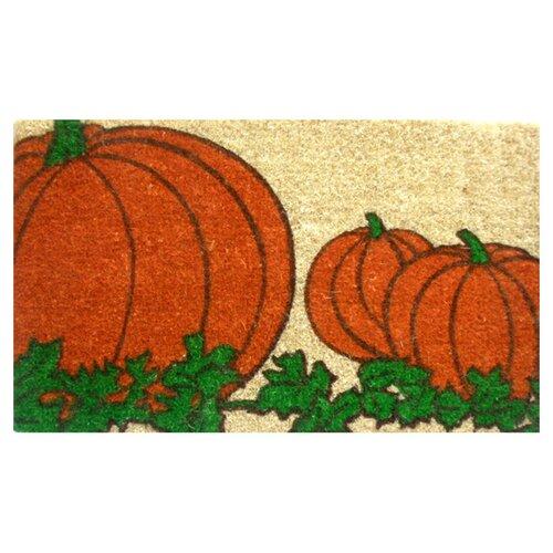 Pumpkin Doormat