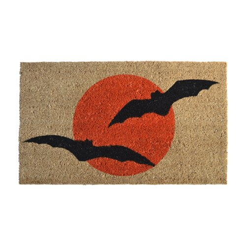 Imports Decor Bats Doormat