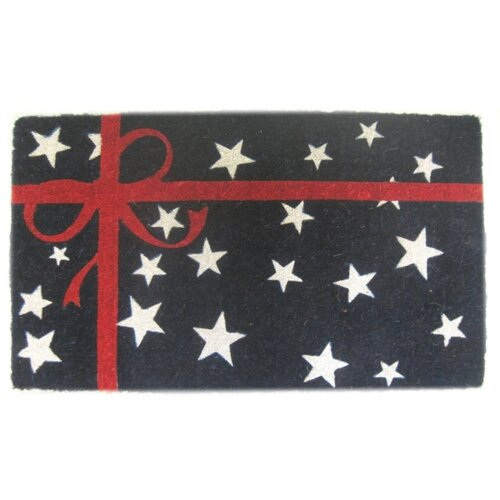 Imports Decor Patriotic Present Mat