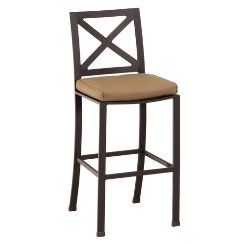 Sunset West La Jolla Barstool with Cushion