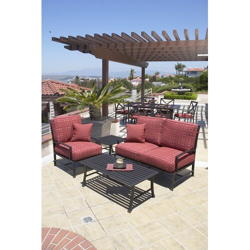 Sunset West La Jolla Loveseat with Cushions