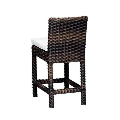 "Sunset West Montecito 26"" Barstool with Cushion"