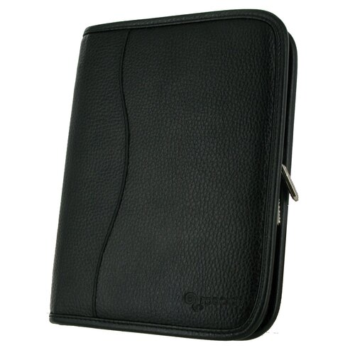 rooCASE Executive Portfolio Leather Case Cover for Kindle Fire HD 7