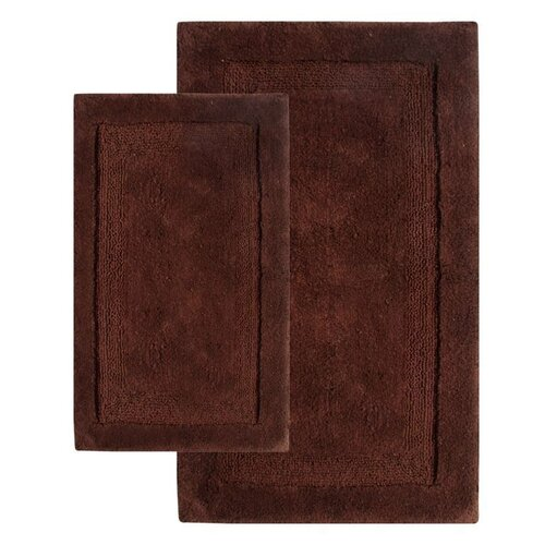 Olympia Contemporary Bath Rug (Set of 2)