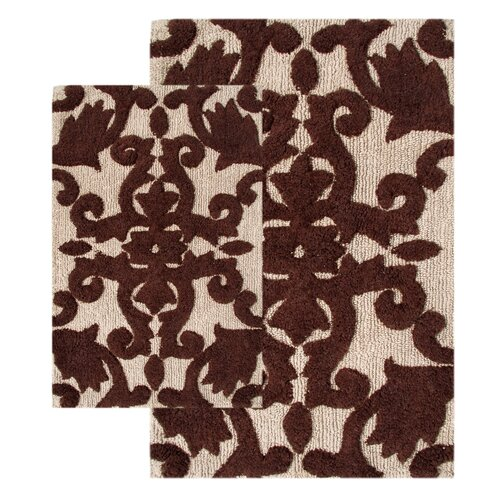 Chesapeake Merchandising Inc. Iron Gate 2 Piece Bath Rug Set