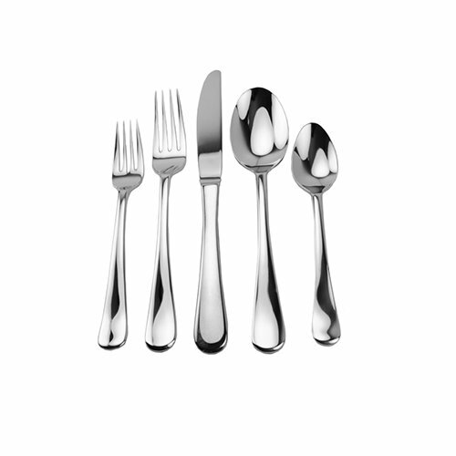 Ginkgo lafayette 45 piece flatware set reviews wayfair - Splendide flatware patterns ...