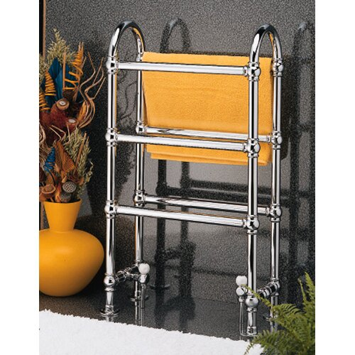 "Wesaunard Victorian 23.5"" Floor Mount / Wall Mount Electric Towel Warmer"