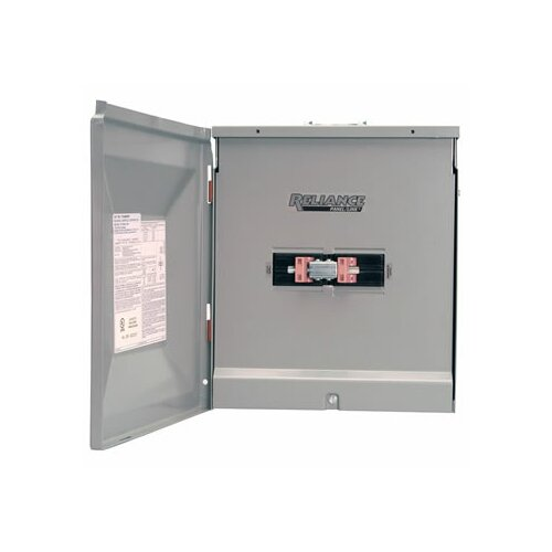Reliance Controls TCA1010DR Outdoor Transfer Panel - 100A Utility and 100A Generator