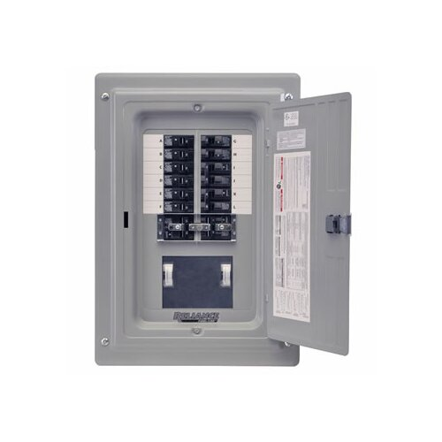 Reliance Controls TRC Prewired 12 Circuit Transfer Sub Panel / Link